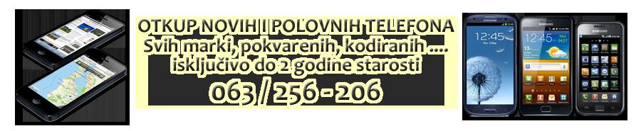 Otkup mobilnih telefona Beograd 011/2696-510 i 011/3626-131